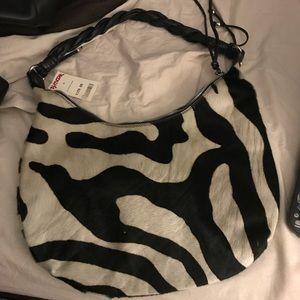 Zebra print Handbag new with tags - never used